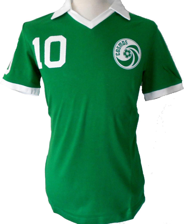 Umbro Cosmos New York - Camiseta retro de Pelé, color verde ...