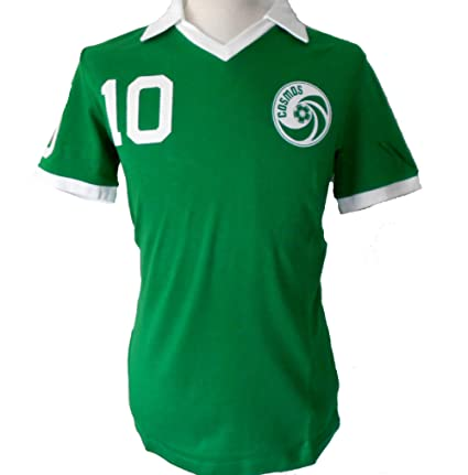 Umbro Cosmos New York - Camiseta retro de Pelé, color verde, XXL ...