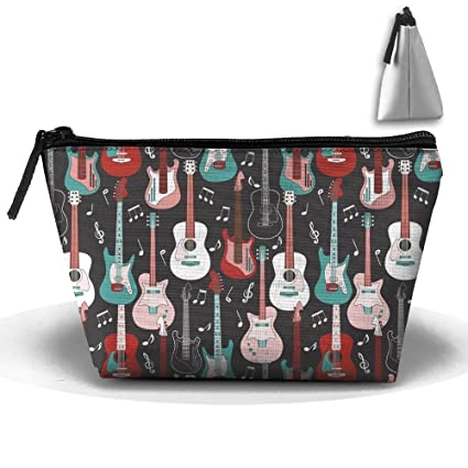 e818ea5bb945 Amazon.com: SDEYR79 Travel Makeup Rock Roll Guitars Cosmetic Pouch ...