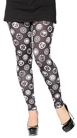 af0b1ccbb68198 Her Universe Marvel Avengers Icons Junior's Leggings (XXX-Large ...