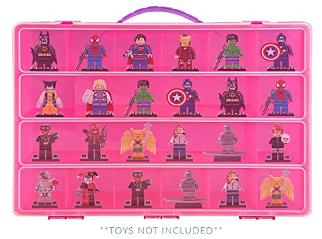 Lego Dimensions Case, Toy Storage Carrying Box. Figures Playset Organizer.  Accessories For Kids