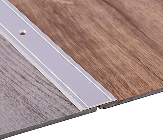 Barre de transition pour parquet et moquette Profil 90 cm x 36 mm x 2,5 mm seuil de transition de sol en aluminium /à visser Bronze Toolerando Profil de transition pour sol stratifi/é