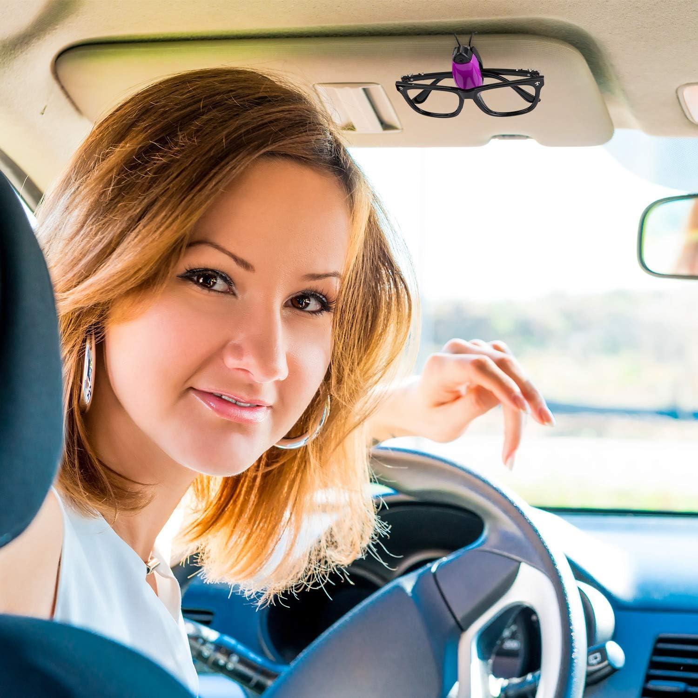 10 St/ücke Auto Fahrzeug Brillen Sonnenblende Clip Halter f/ür Sonnenbrille Brillenhalter Clip Aufh/änger Brillen Montieren Ticket Karte Clip Auto Zubeh/ör