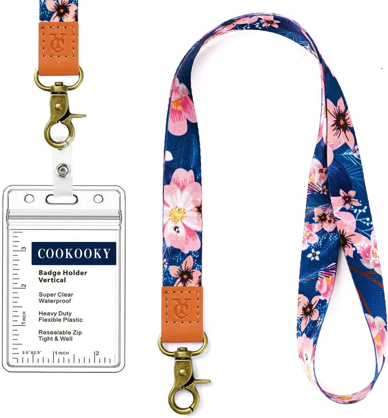 Cute Lanyard for Teacher Women and Kids Printed Neck Strap Premium Leather Lanyard for Keychain Keys Mobile Phone Wallet ID Card SUPGALIY Lanyard with Badge Holder Strap 2020 Christmas Ornament