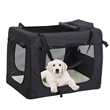 Mc Star Portable Foldable Dog Cat Carrier Pet Travel Carry Bag Tote