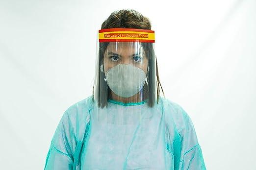 Oedim Pack 10 Uds Pantalla Protección Facial Transparente | Color España: Amazon.es: Hogar