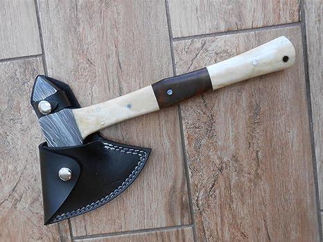 Tomahawk Stil camping y bushcraft Axe - de la mano de hierro ...