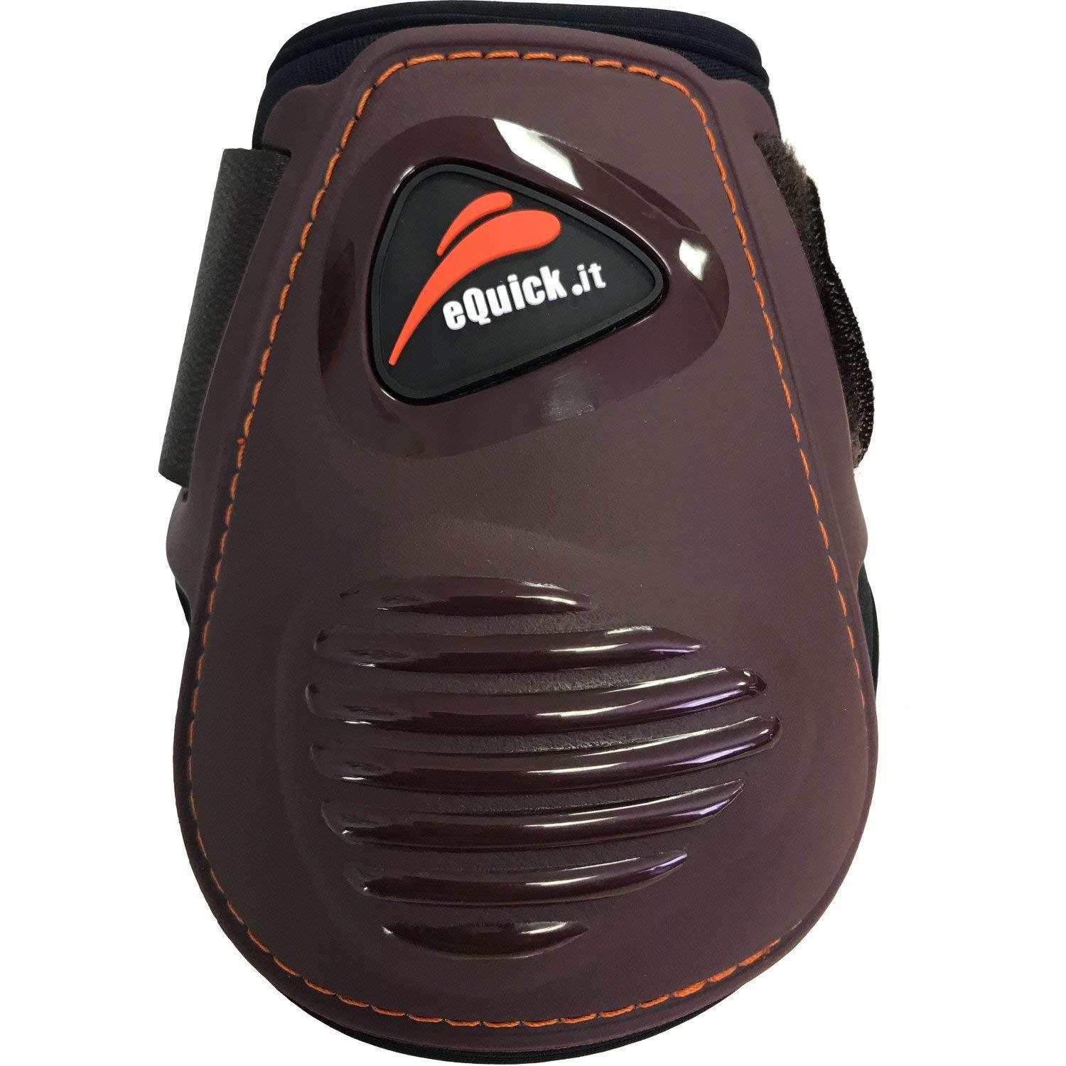 EQuick eLight Rear Fetlock Boots Small Brown
