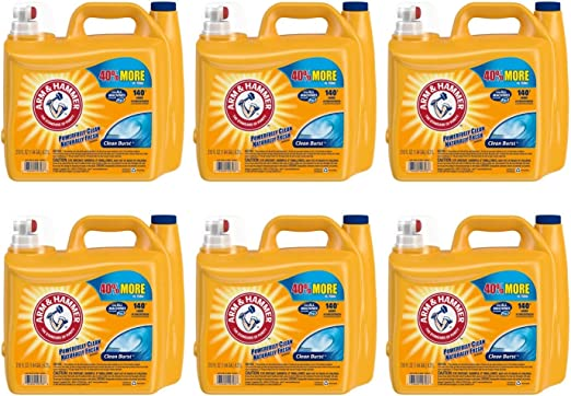 Arm & ~ Martillo 2X Ultra Clean Burst Detergente Líquido para ...