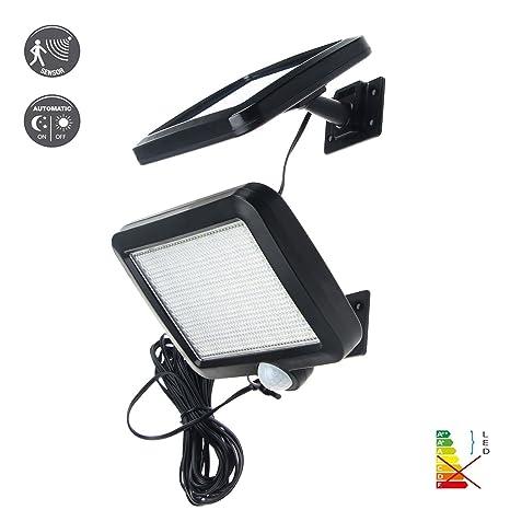 Benma 56 LEDs Lámparas Solares,Impermeable Energía con Sensor de Movimiento 3-8m,