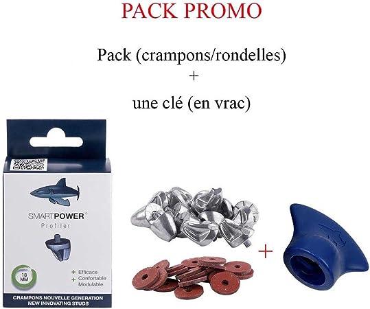 SMART POWER Crampons Rugby Pack Profiler 18 mm (Cramponsrondelles)rondelles)
