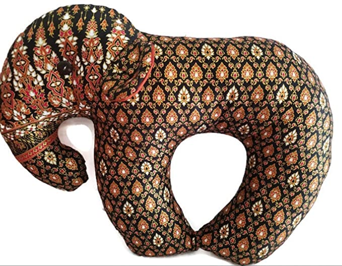 Amazon.com: PunPund Elephant Neck Pillow Support Neck ...
