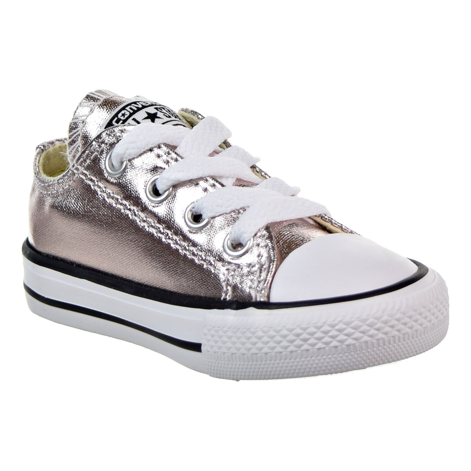 Converse Chuck Taylors All Star Ox Infant Shoes Rose Quartz//White//Black 757661f