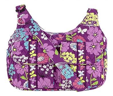 49df600f36 Vera Bradley Cargo Sling Flutterby  Handbags  Amazon.com