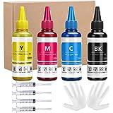 Xcinkjet Sublimation Ink Refilled for Epson C88 C88+ WF7720 ET2720 WF7710 ET2650 ET2750 WF2750 WF3620 Printer(1Black…