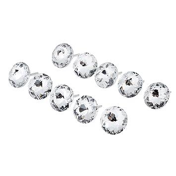 25 Mm Glänzend Muster Kristall Sofa Schraubnagel Button Kopfteil