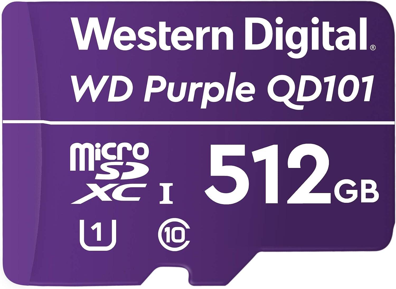 Western Digital Wd Purple Sc Qd101 512gb Smart Video Computer Zubehör