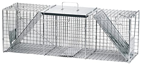 Havahart Trampa Jaula Profesional 1045 Estilo 2 puertas para animales molestos