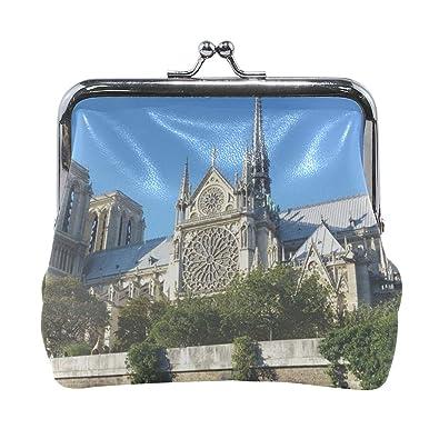 Amazon.com: Rh Studio Monedero Cierre Cierre Notre Dame ...