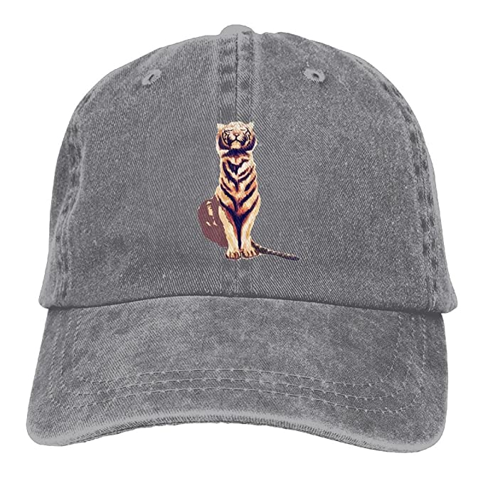 CAPS LLOLO Tiger With Cheetah Print Unisex Hat Look Vintage Printed  Baseball Cap 642a8284cfe
