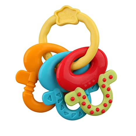 Bright Starts License to Drool Teether Teethers at amazon