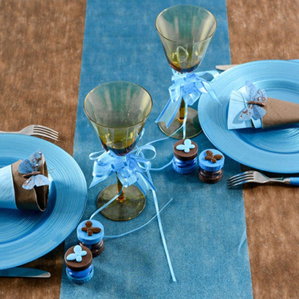 camino de mesa decorativa de fieltro puede pizarra 0,3/x 10/m