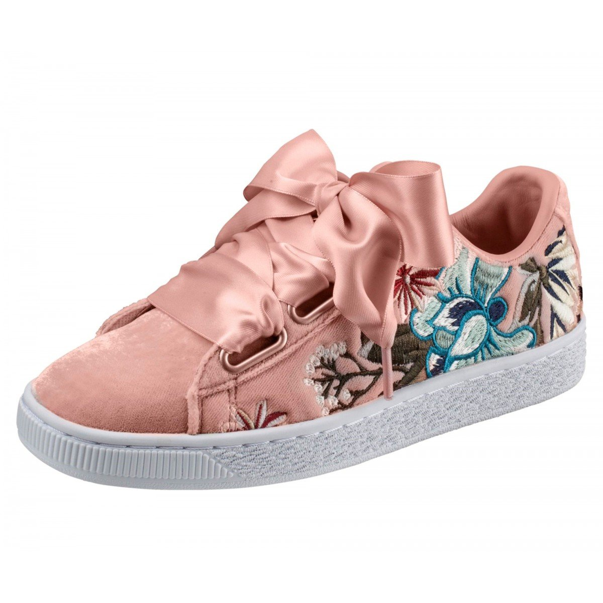 Puma Suede Heart Hyper Embroidery - 36611602: Amazon.de: Schuhe ...