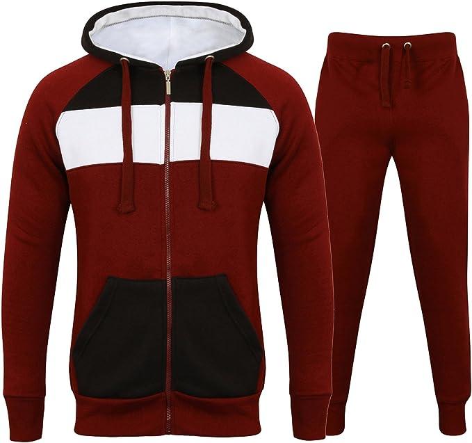 Fabrica Fashion - Chándal para Hombre, Forro Polar, 3 Tonos, con ...