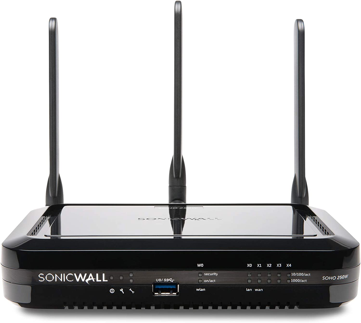 SonicWall SOHO 250 Wireless Network Security Appliance and 3YR Secure Upgrade Plus Bundle with 5 User SSL VPN (02-SSC-1832+01-SSC-8630)