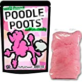 Poodle Poots Cotton Candy – Cotton Candy Gag Gifts Funny Easter Basket Weird Stocking Stuffers Poodle Toots Secret Santa Pink Cotton Candy Gifts for Kids White Elephant Gifts Teen Girls
