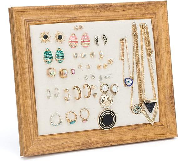 Reclaimed Frame Earring Display