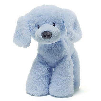 Amazoncom Gund Blue Fluffy Medium Plush Toys Games