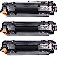 Kit 3x Toner Compatível CB435A CB436A CE285A para HP Laserjet P1102W P1005 P1109W P1006 P1505 M1132 M1212 M1120 P1102…