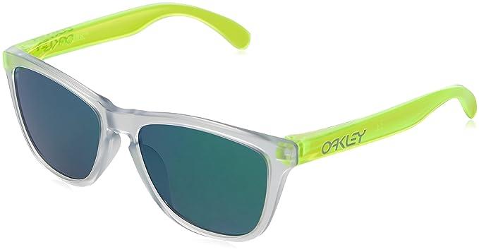 Oakley Frogskins (A) 92455354 54, Gafas de Sol Unisex Adulto, Verde (