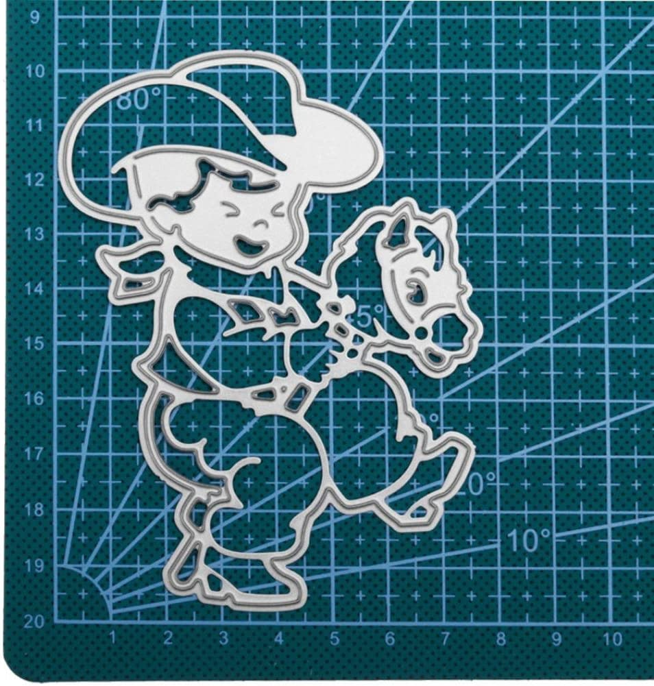 B FNKDOR Metall Schneiden Schablonen DIY Sammelalbum Dekor Papier Karten Metall Buchzeichen
