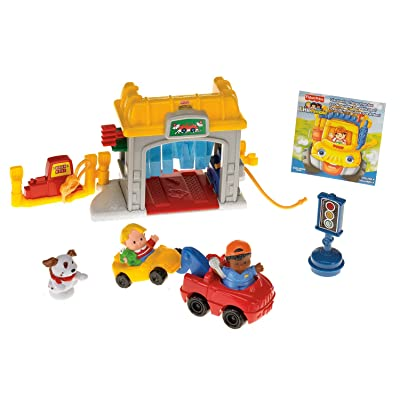 Fisher-Price Little People Mini Garage: Toys & Games