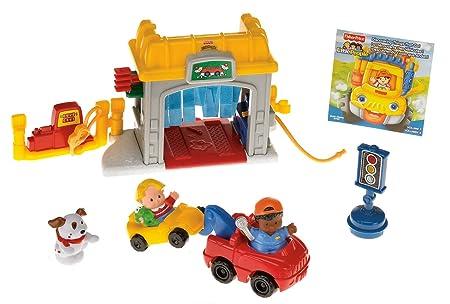 Little People Garage : Fischer price flugzeug garage parkhaus auto little people in