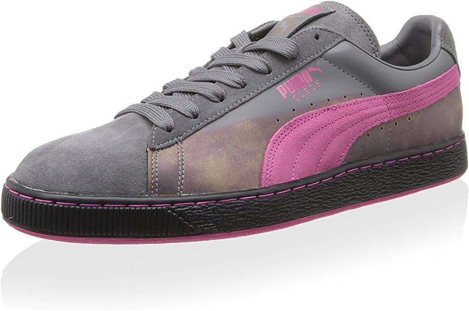 PUMA Mens Suede Classic Colorburn Casual Sneakers,