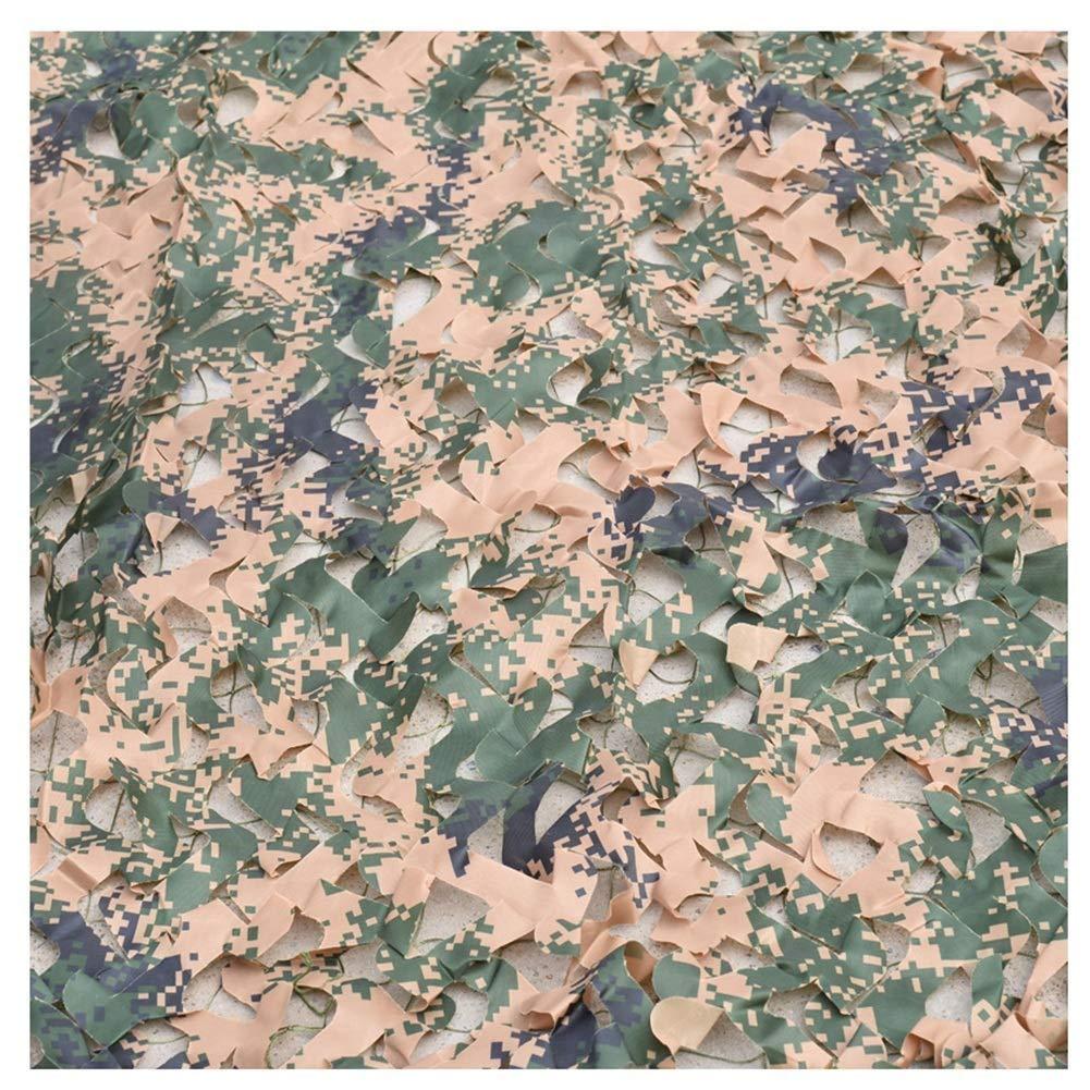 迷彩ネット迷彩ネットオックスフォード生地車カバー釣りシェルター壁の装飾、ウッドランドデジタル (サイズ さいず : 12x12m) B07RJNG6L9  5x5m 5x5m