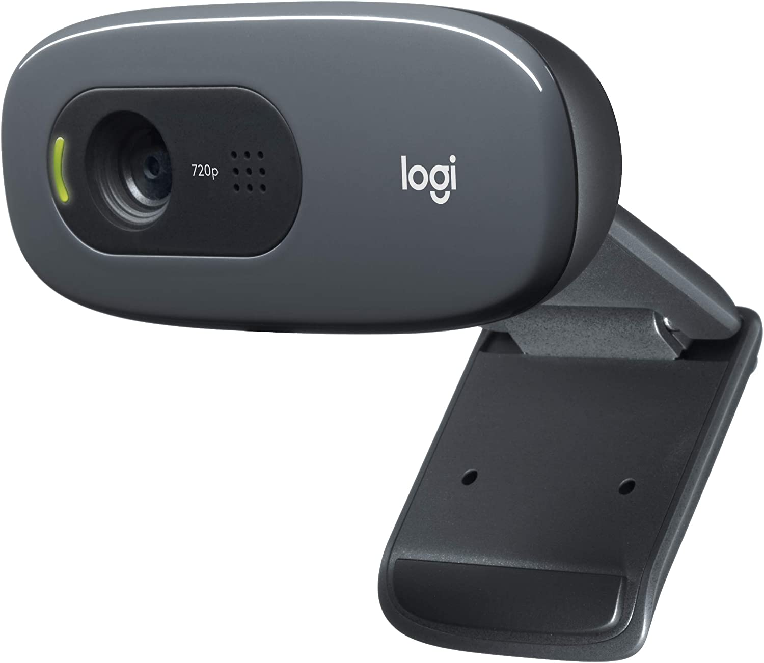 Amazon Com Logitech C270 Desktop Or Laptop Webcam Hd 720p Widescreen For Video Calling And Recording Computers Accessories