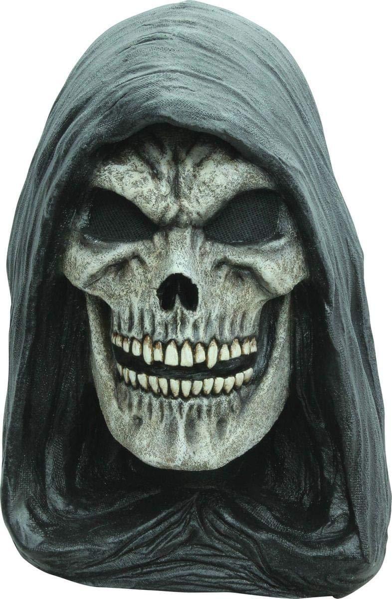 Máscara esqueleto de la muerte adulto Halloween - única