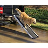 PetSafe Happy Ride Extendable Dog Ramp - Portable Pet Ramp Extends from 42 to 70 Inches - Great for Cars, Trucks and…