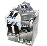 Mobil 美孚 1号机油5W30 1夸脱*6(一箱6瓶装)(美版)(亚马逊进口直采,美国品牌)