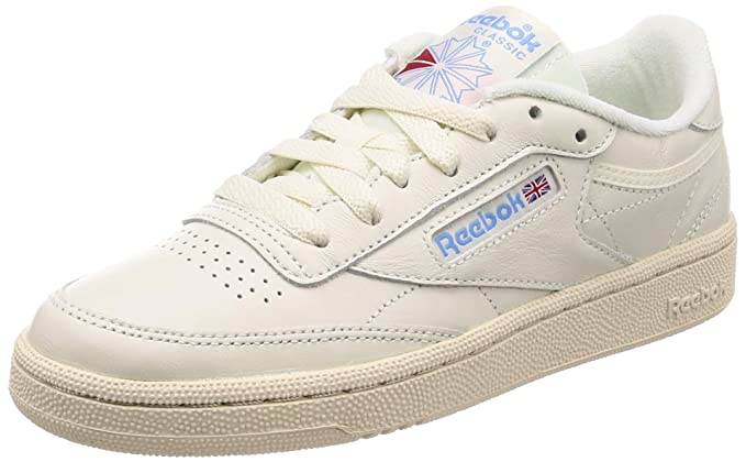 f838d4b466163 Amazon.com: Reebok Club C 85 Vintage Womens Sneakers Natural: Clothing