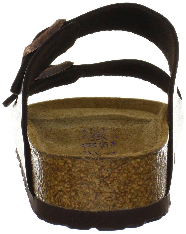Birkenstock Unisex Arizona Brown Amalfi Leather Sandals - 39 M EU / 8-8.5 B(M) US by Birkenstock (Image #2)