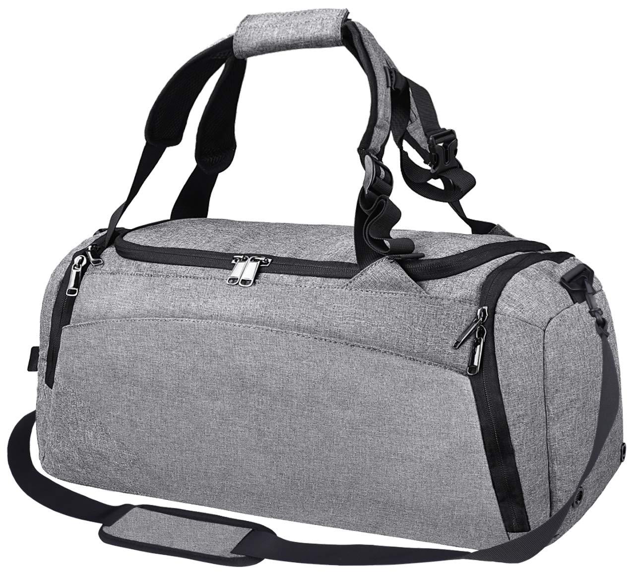 97a77c0d4e8b Details about Gym Duffle Bag Waterproof Travel Weekender Bag for Men Women Duffel  Bag