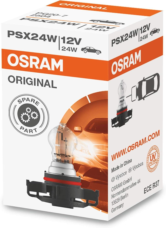 Osram Original Psx24w Halogen Signallampe Nebellicht Rückfahrlicht 2504 12v Faltschachtel 1 Lampe Auto