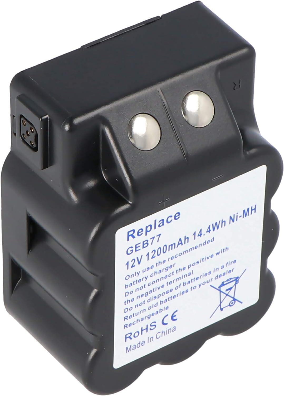 2 x Batterie Pour Leica tc400-905//tps1000 remplace 439149//geb77//12 V 1200 mAh NiMH