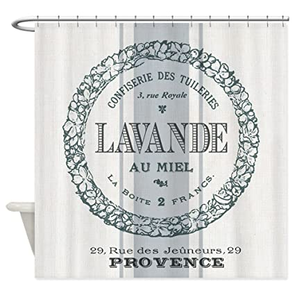 CafePress Vintage French Lavender Shower Curtain Decorative Fabric 69quot