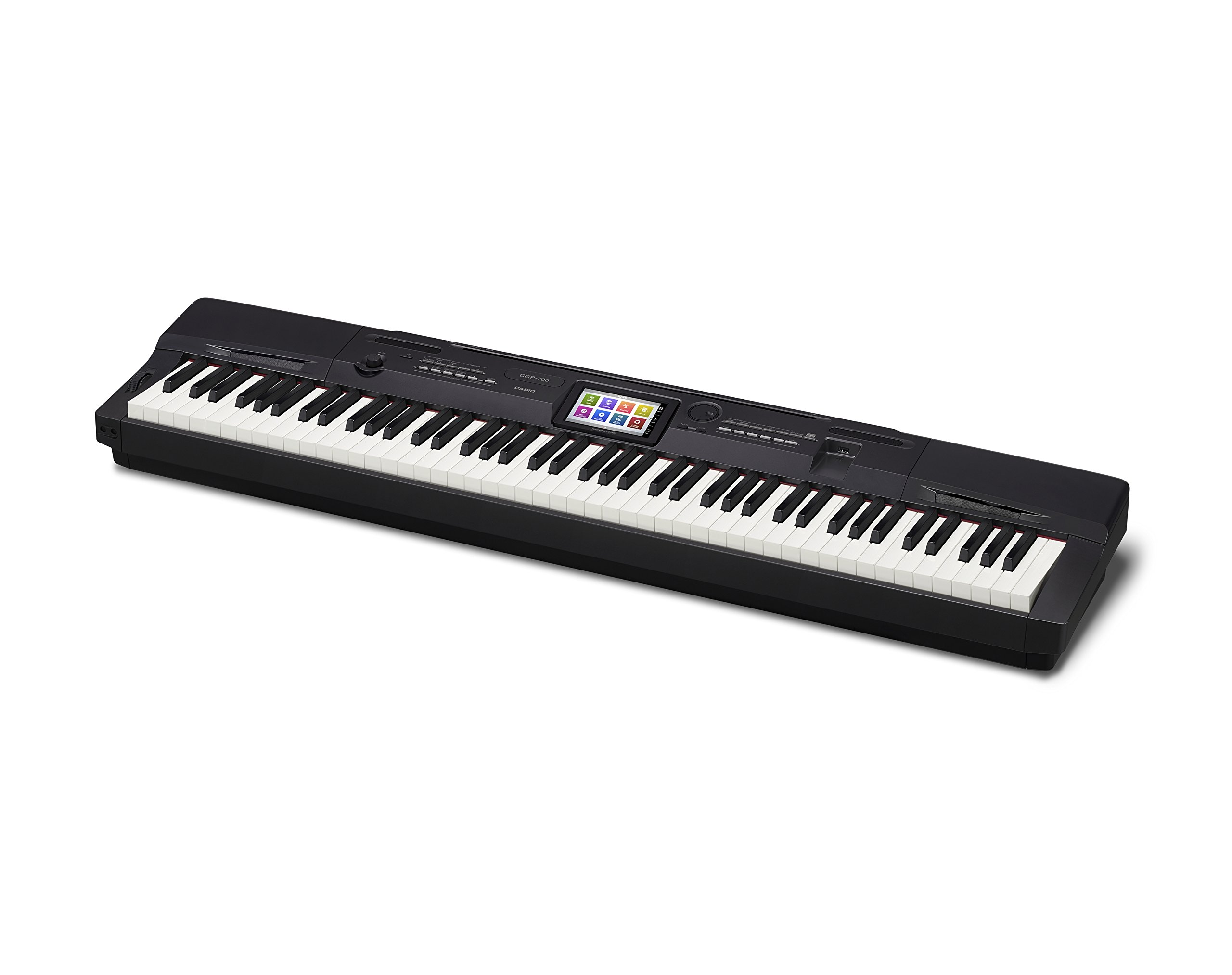 Casio CGP-700BK 88-Key Compact Grand Digital Piano Bundle with Furniture-Style Bench, Dust Cover, Instructional DVD, Instructional Book, Sustain Pedal, and Polishing Cloth - Black by Casio (Image #4)